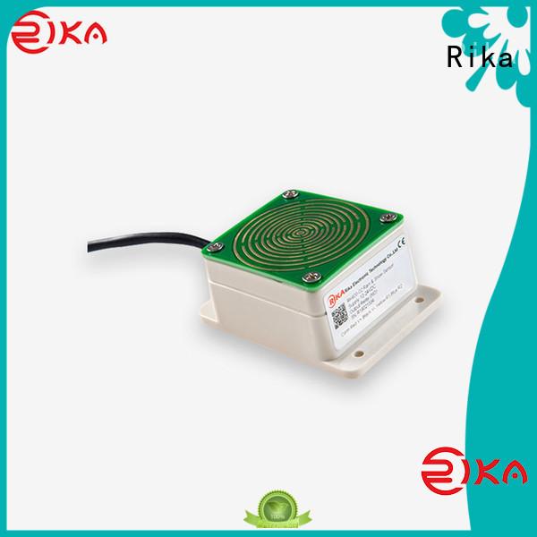 Rika rain gauge price supplier for measuring rainfall amount
