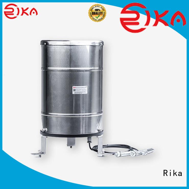 Rika professional 8 inch rain gauge factory for measuring rainfall amount