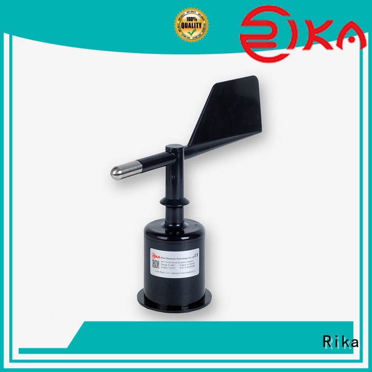 Rika top rated ultrasonic wind supplier for meteorology field