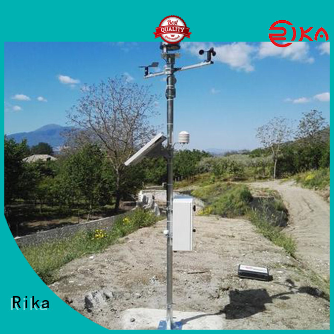 perfect weather station equipment supplier for soil temperature measurement
