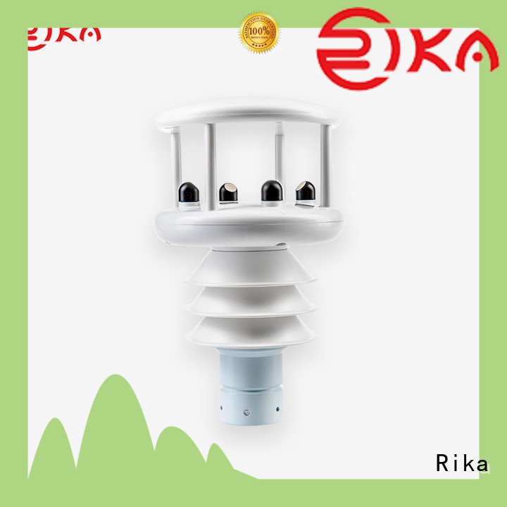 Rika best weather station solution provider for wind speed & direction detecting