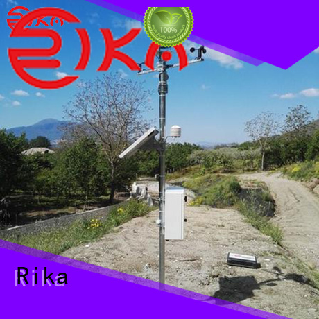 Rika weather station factory for wind speed & direction detecting