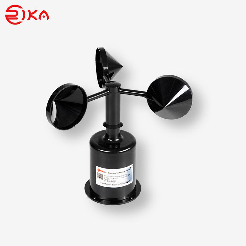 RK100-02 Wind Speed Sensor 3 Cup Anemometer
