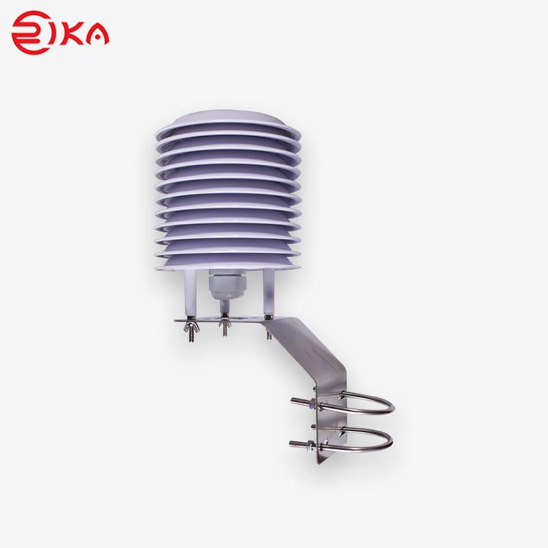 Rika professional weather station radiation shield manufacturer for relative humidity measurement-Ri