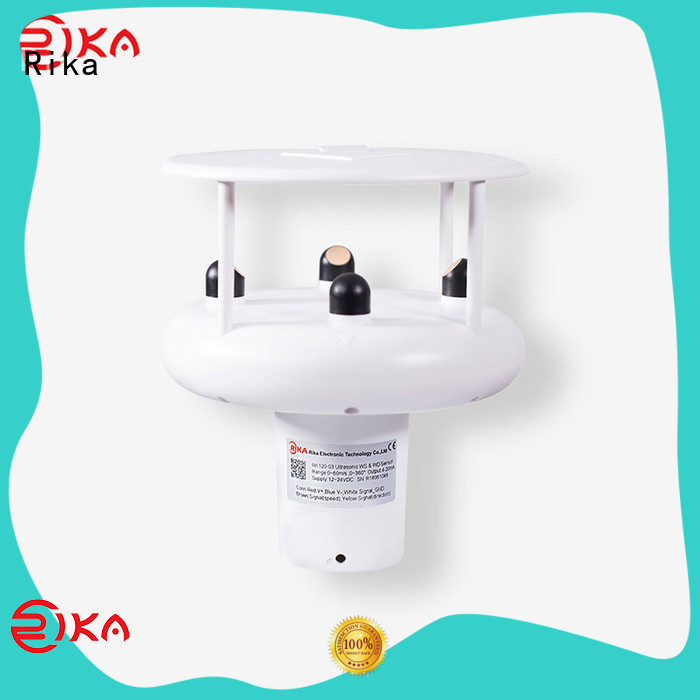 top rated wind speed detector supplier for meteorology field