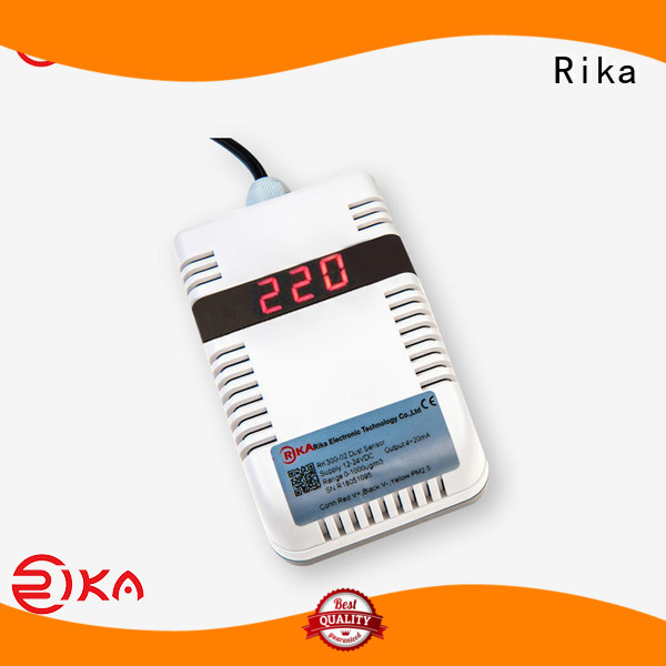 Rika perfect dust sensor solution provider for atmospheric environmental quality monitoring