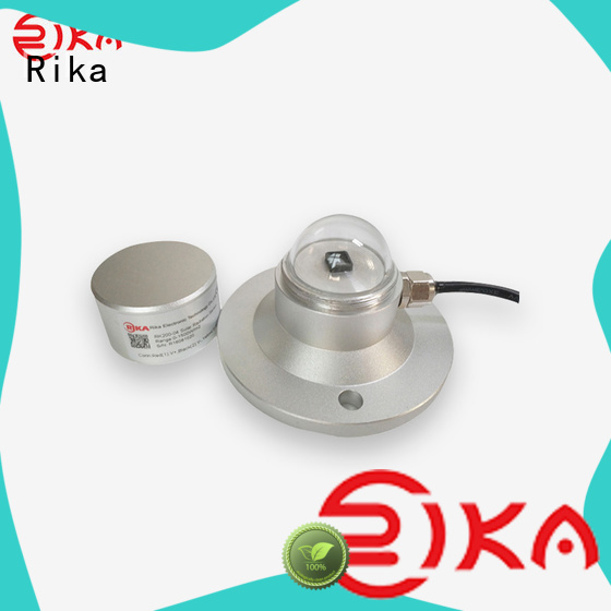 Rika top rated pyranometer solar radiation supplier for shortwave radiation measurement