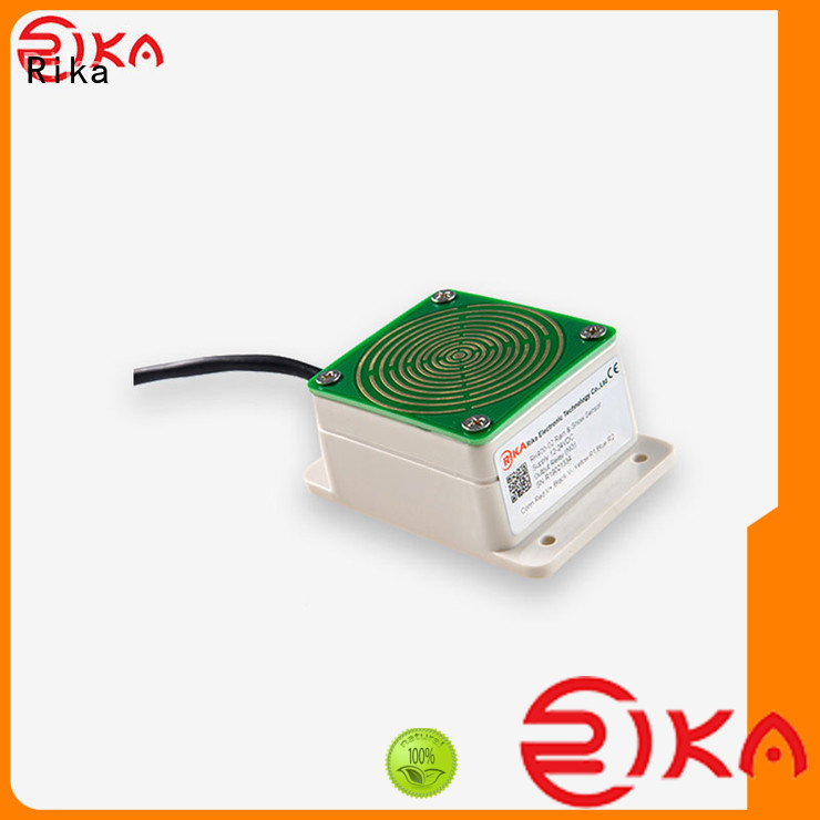 Rika different types of rain gauges solution provider for agriculture