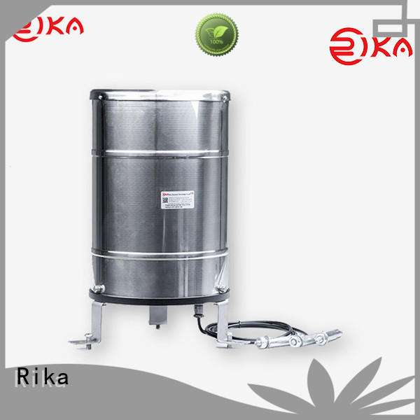 Rika perfect 8 inch standard rain gauge factory for measuring rainfall amount