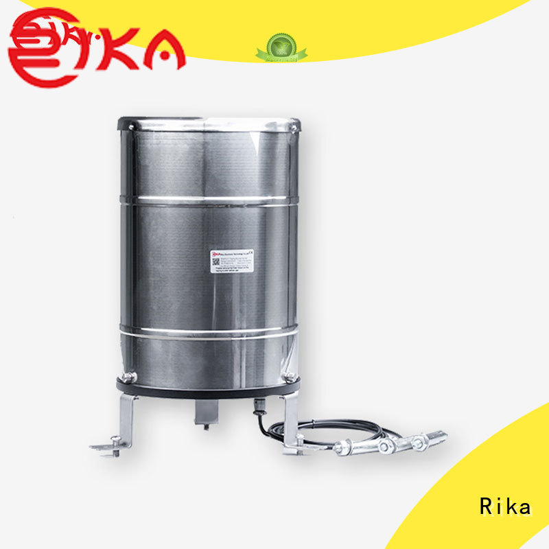 Rika great electronic rain gauge solution provider for measuring rainfall amount