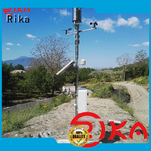 Rika professional accurate weather station industry for rainfall measurement
