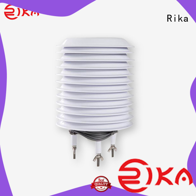 Rika best radiation shield solution provider for relative humidity measurement