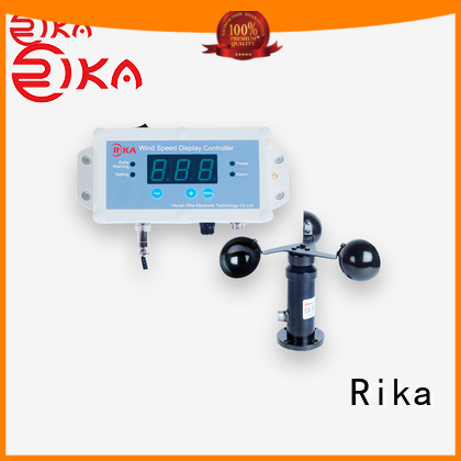Rika ultrasonic anemometer industry for industrial applications