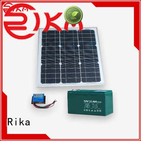 Rika best solar power system supplier for sensor