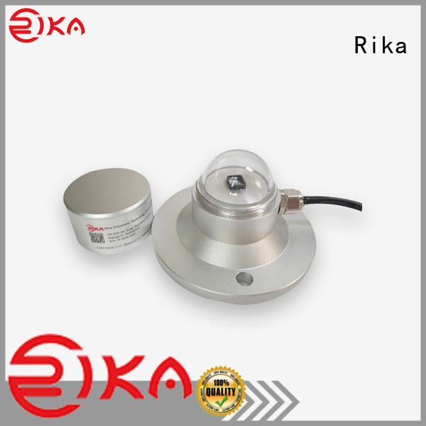 Rika best pyranometer solar radiation factory for agricultural applications