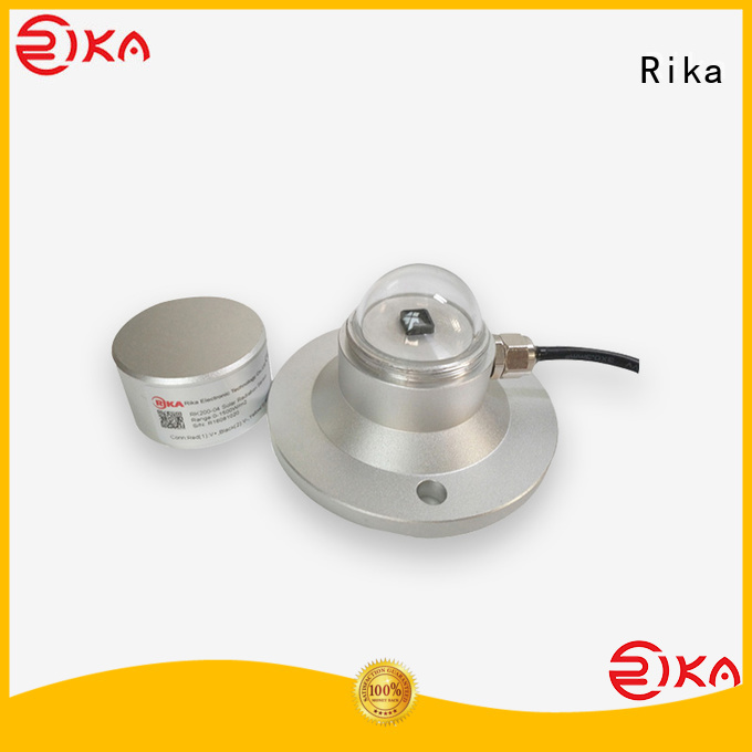 Rika perfect pyranometer solar radiation supplier