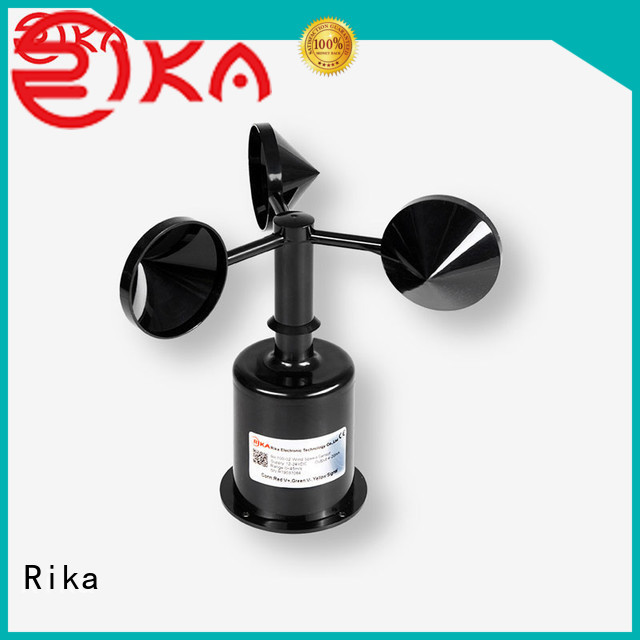 Rika wind anemometer solution provider for meteorology field