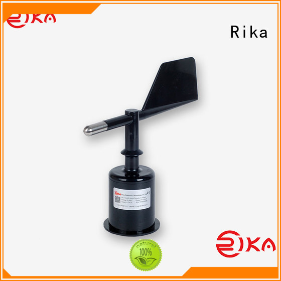 Rika professional wind sensor manufacturer for wind spped monitoring