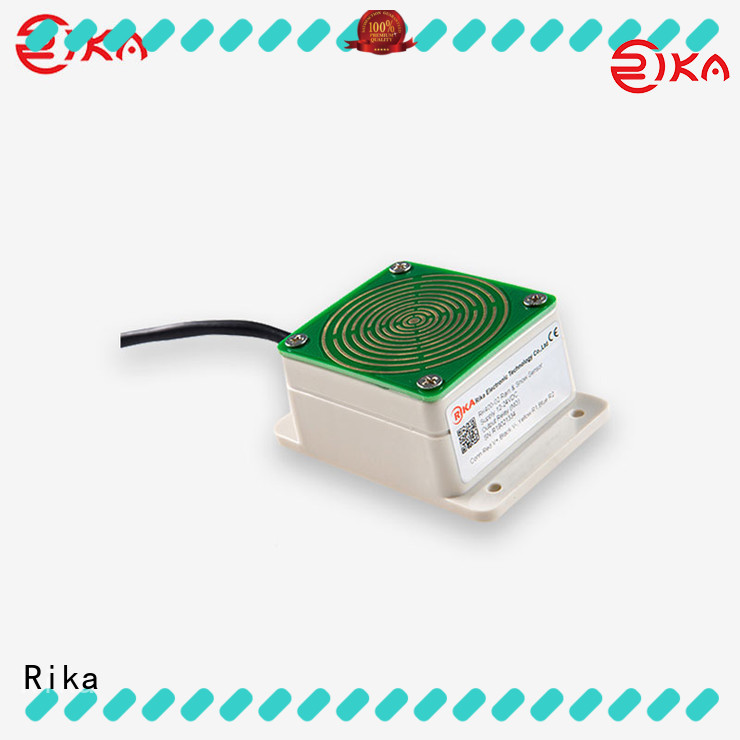 Rika rain gauge industry for hydrometeorological monitoring