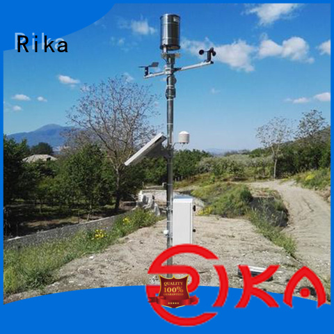 Rika meteorological station solution provider for soil temperature measurement