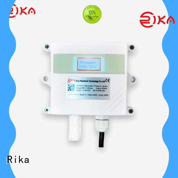 Rika noise sensor factory for air temperature monitoring