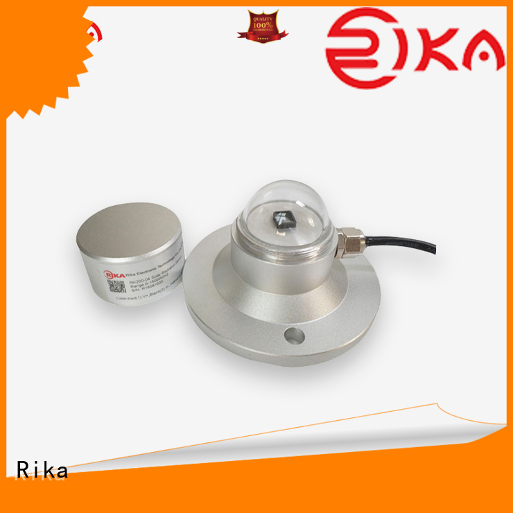 Rika pyranometer solar radiation manufacturer for shortwave radiation measurement