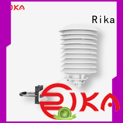 Rika weather station radiation shield supplier for relative humidity measurement