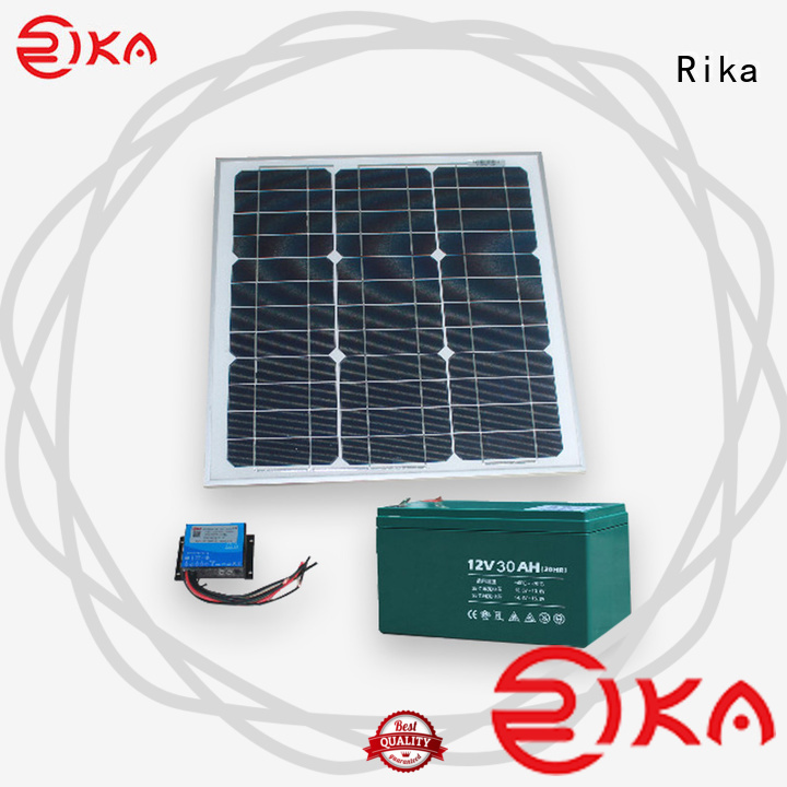 Rika professional solar power supply system factory for environmental monitoring system installation