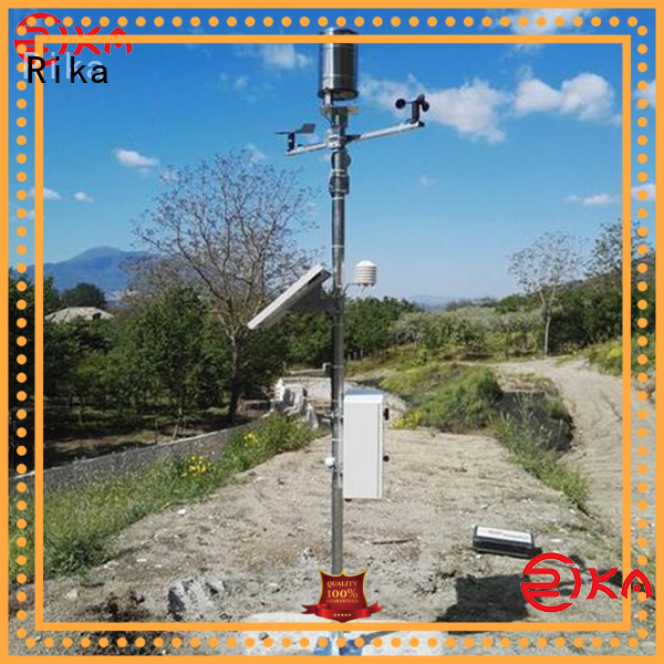 Rika weather station manufacturer for humidity parameters measurement