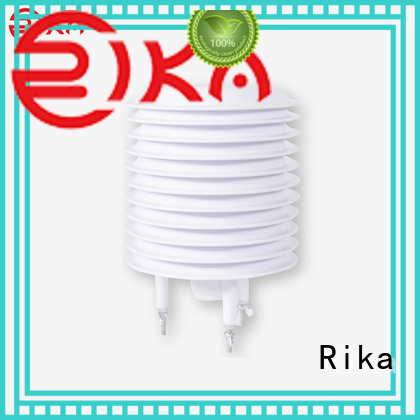 Rika professional weather station radiation shield manufacturer for relative humidity measurement