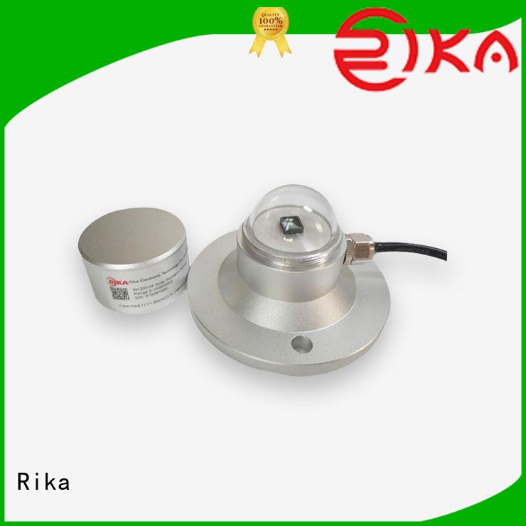 Rika solar radiation sensor supplier for ecological applications