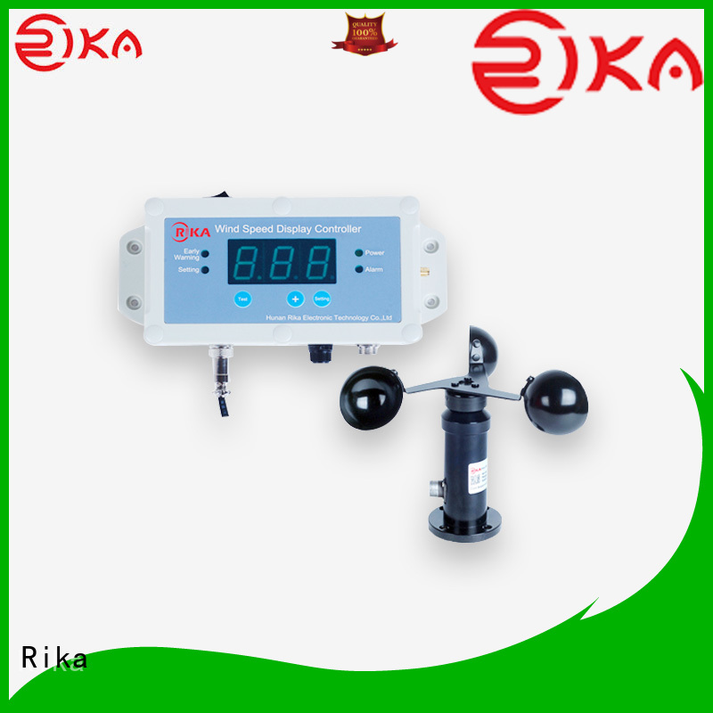 Rika best wind speed detector factory for wind spped monitoring