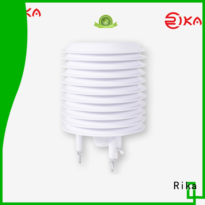 Rika good quality weather station radiation shield industry for temperature measurement