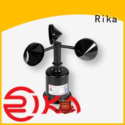 Rika professional anemometer sensor supplier for meteorology field