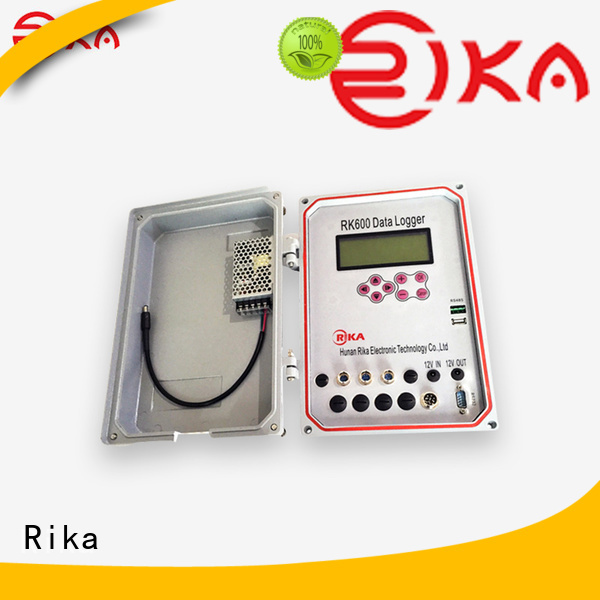 Rika data logger solution provider for water quality monitoring