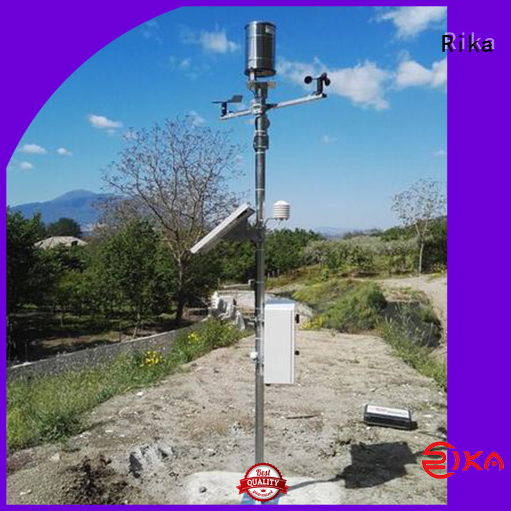 Rika weather sensor industry for humidity parameters measurement