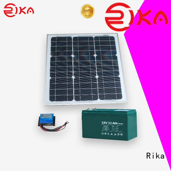 Rika water station accessories solution provider for sensor