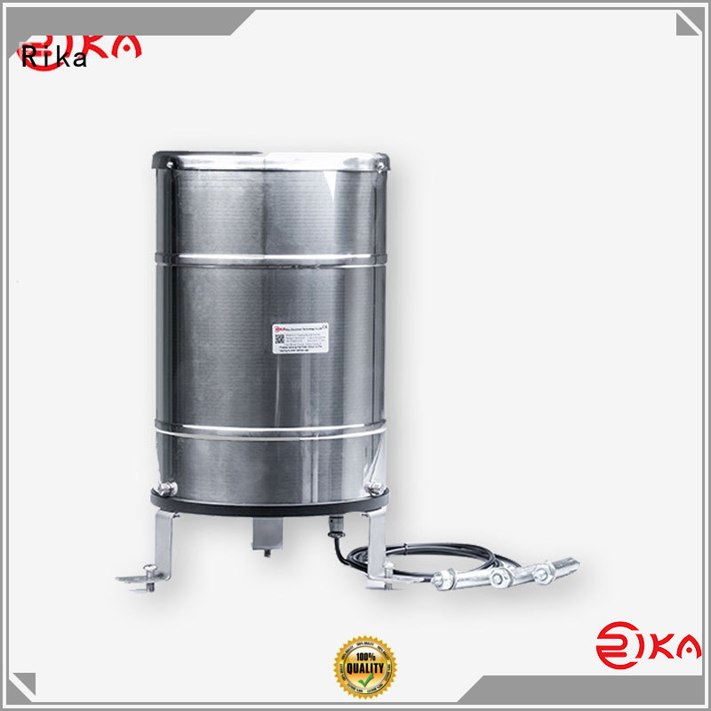 Rika accurate rain gauge supplier for measuring rainfall amount