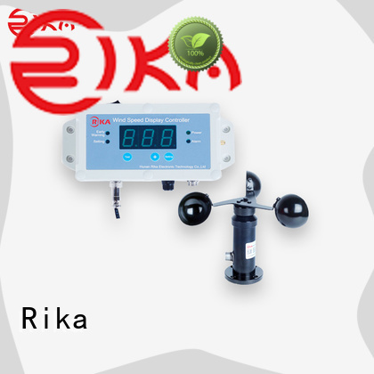 Rika perfect anemometer manufacturer for wind spped monitoring
