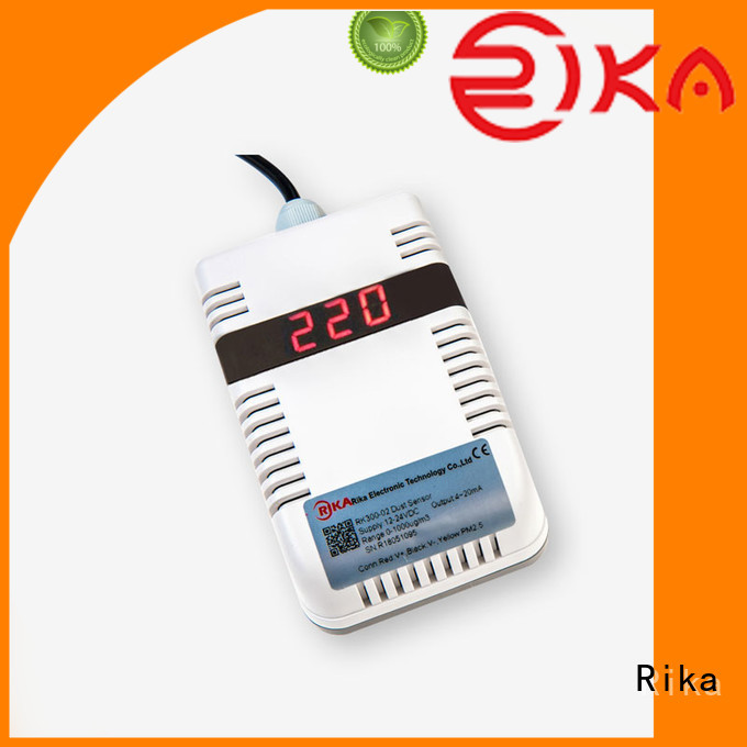 Rika air quality sensor solution provider for air temperature monitoring