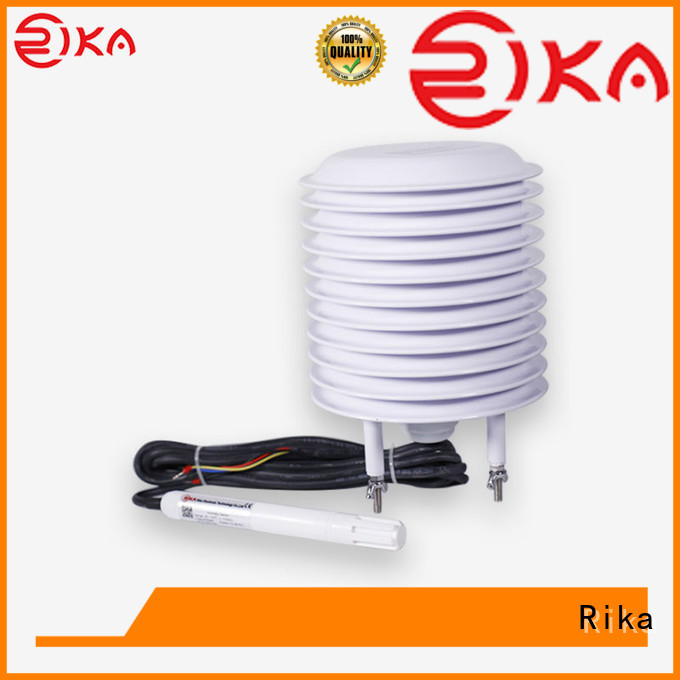 Rika ambient sensor solution provider for air quality monitoring