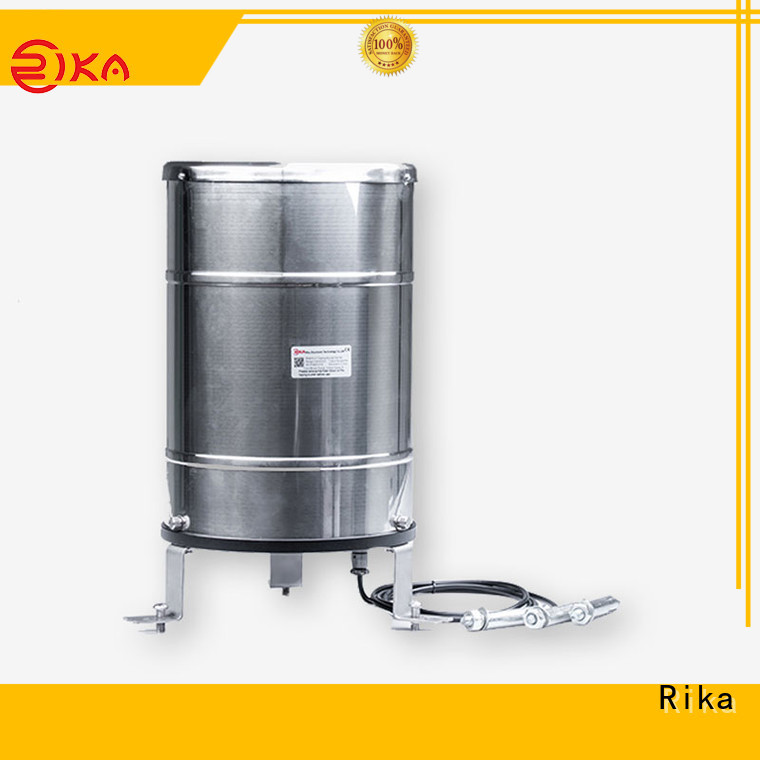 Rika perfect professional rain gauge manufacturer for measuring rainfall amount