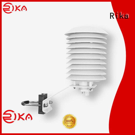 Rika multi-plate radiation shield manufacturer for relative humidity measurement