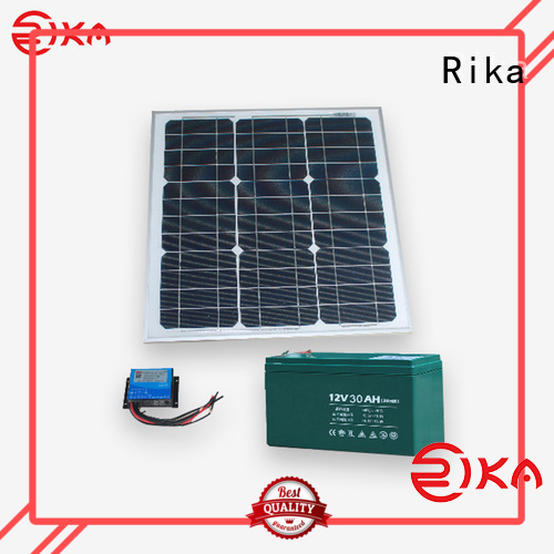 Rika professional solar power supply system supplier for sensor