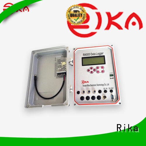 Rika best weather data logger supplier for mesonet systems