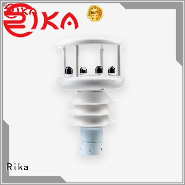 Rika professional weather station factory for rainfall measurement