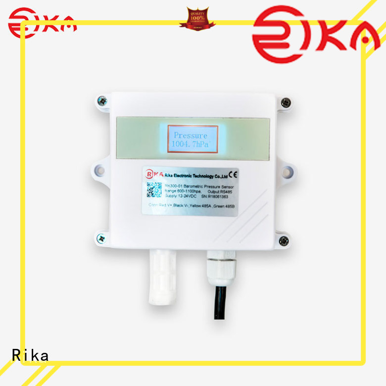 Rika air quality sensor manufacturer for humidity monitoring