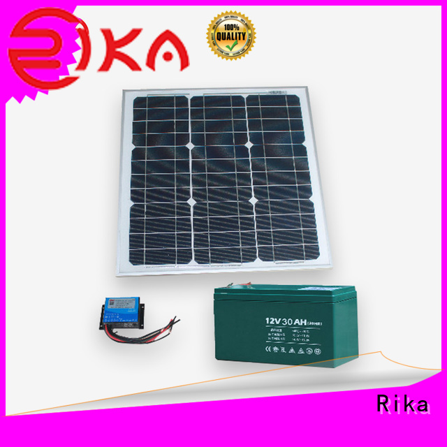 Rika solar power supply system manufacturer for environmental monitoring system installation