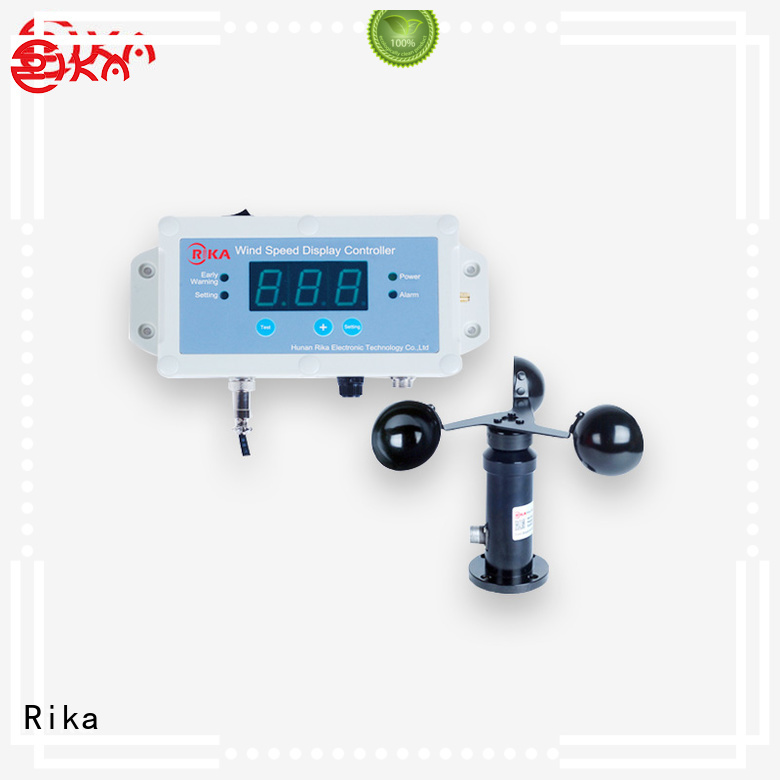 Rika wind speed sensor supplier for industrial applications