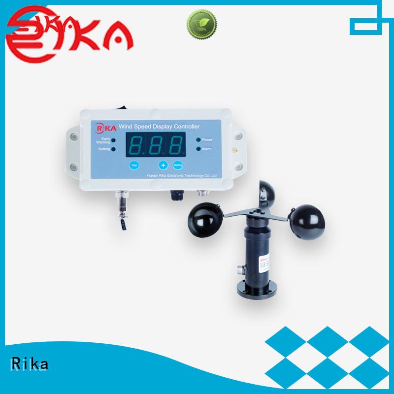 Rika great anemometer sensor solution provider for meteorology field